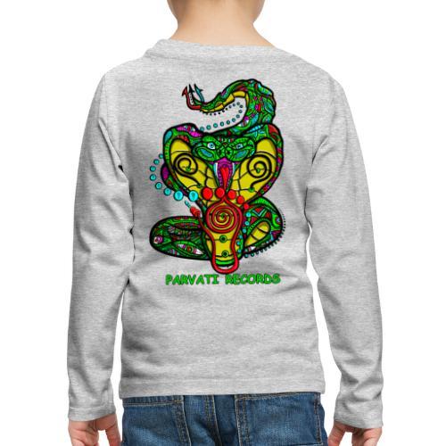 Parvati Records Cobra by Juxtaposed HAMster - Kids' Premium Longsleeve Shirt