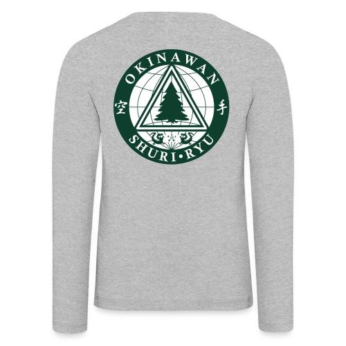 Klubmærke Ryg placering - Børne premium T-shirt med lange ærmer