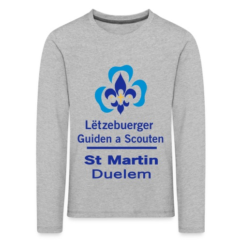 LGS Duelem 10 x 13cm - Kinder Premium Langarmshirt