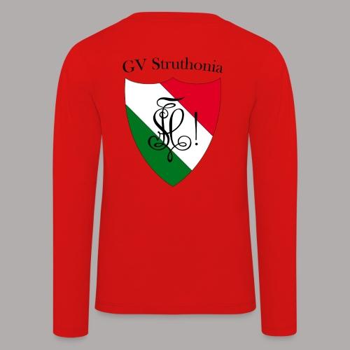 Wappen Struthonia beschriftet - Kinder Premium Langarmshirt