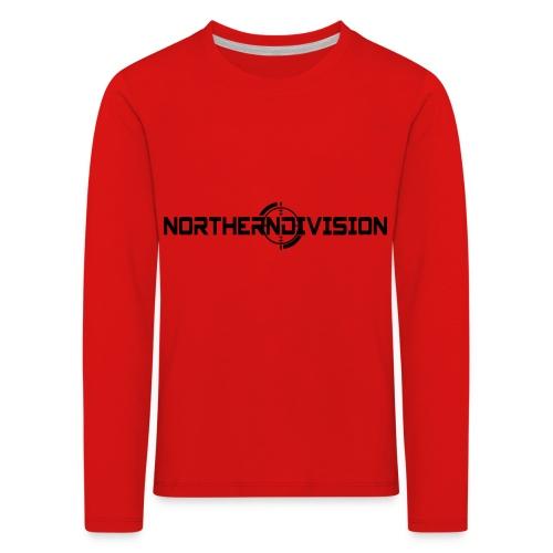 ND CROSSHAIR_TEKSTI_2017 - Lasten premium pitkähihainen t-paita