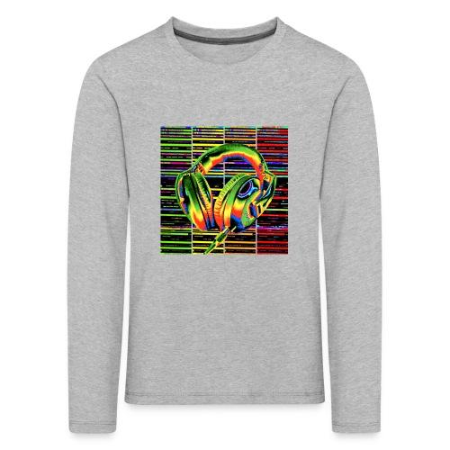 Casque discothèque 2 - T-shirt manches longues Premium Enfant