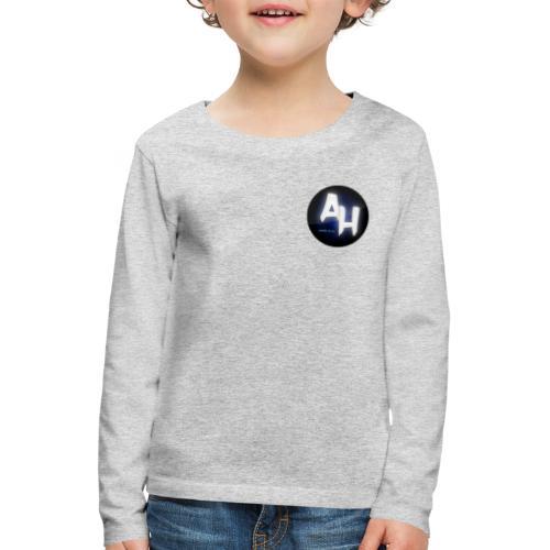 gamel design - Børne premium T-shirt med lange ærmer