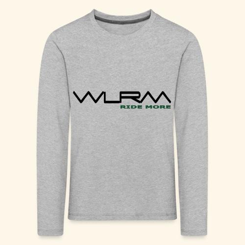 WLRM Schriftzug black png - Kinder Premium Langarmshirt