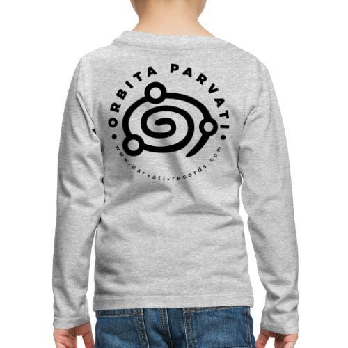 Orbita Parvati logo - Kids' Premium Longsleeve Shirt