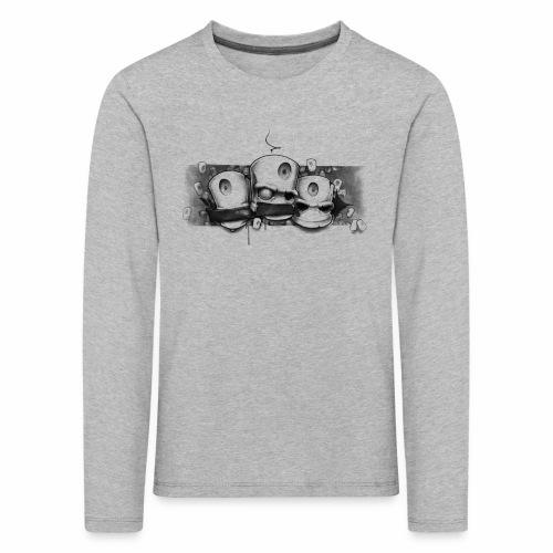 Dont ! Moe Frisco Ver01 - Børne premium T-shirt med lange ærmer