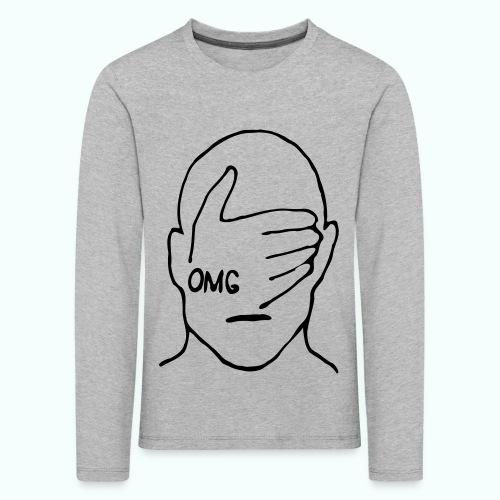 OMG - Kinder Premium Langarmshirt