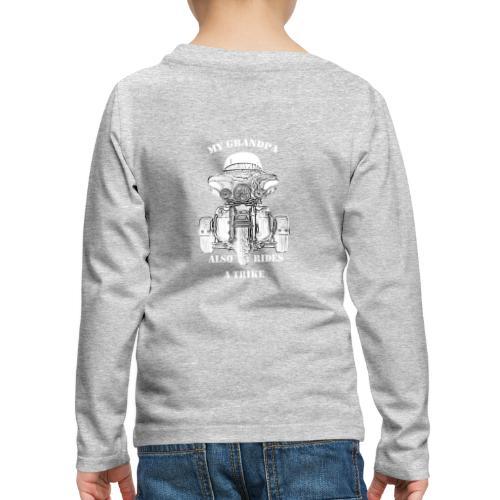 Trike grandpa - Premium langermet T-skjorte for barn