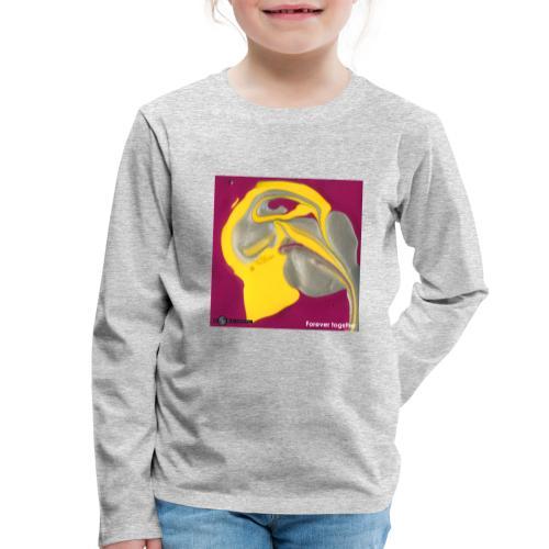 TIAN GREEN Welt Mosaik - CH071 Forever together - Kinder Premium Langarmshirt