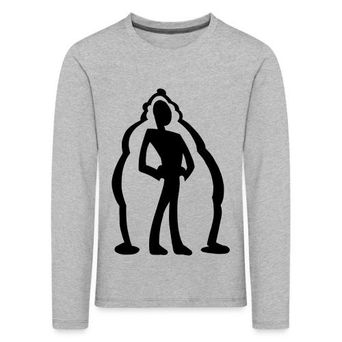 logo2 - Långärmad premium-T-shirt barn