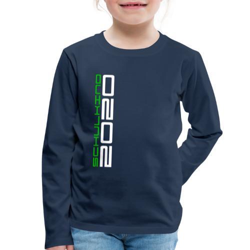Schulkind2020 - Kinder Premium Langarmshirt