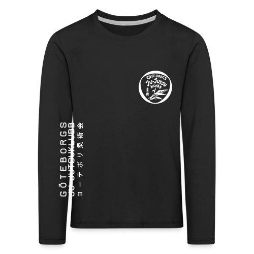 rygg centrerad tshirt hoodjacka troeja - Långärmad premium-T-shirt barn
