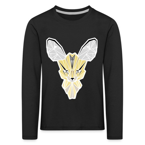 fennec contour png - T-shirt manches longues Premium Enfant