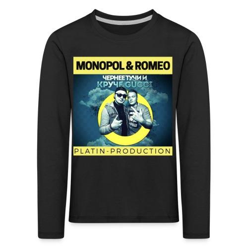MONOPOL & ROMEO - Kinder Premium Langarmshirt