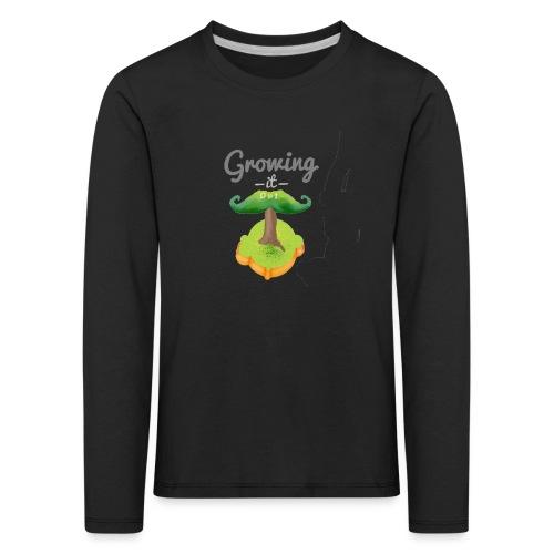 Moustache tree - Kids' Premium Longsleeve Shirt