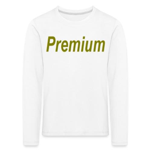 Premium - Kids' Premium Longsleeve Shirt
