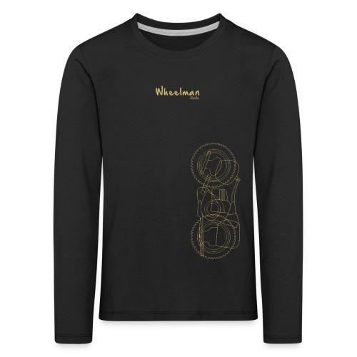 wheelman - Maglietta Premium a manica lunga per bambini