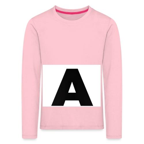 A-685FC343 4709 4F14 B1B0 D5C988344C3B - Børne premium T-shirt med lange ærmer