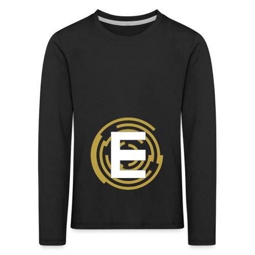 E-Campionato Semplice - Maglietta Premium a manica lunga per bambini