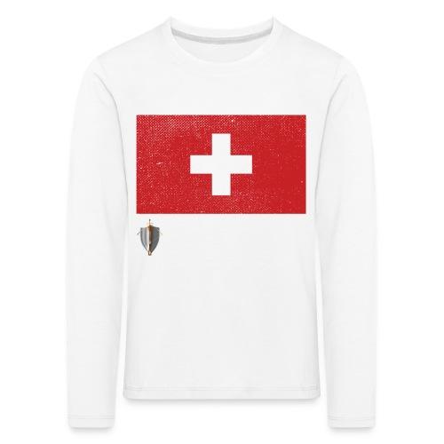 Echter Eidgenosse Schweiz - Kinder Premium Langarmshirt