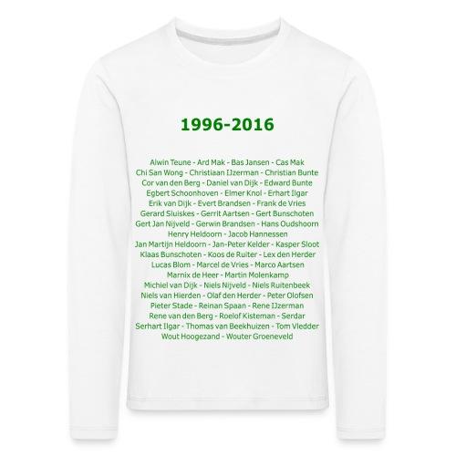 tekening4 - Kinderen Premium shirt met lange mouwen