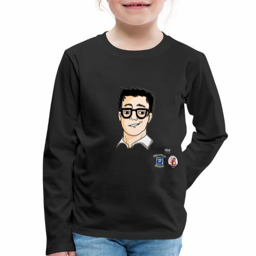 iocukappa - Maglietta Premium a manica lunga per bambini