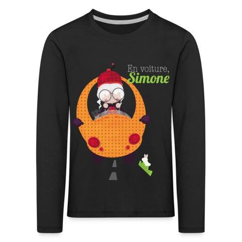 AUTOSIMONE - T-shirt manches longues Premium Enfant