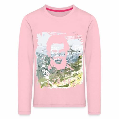 Pablo Escobar distressed - Kinder Premium Langarmshirt