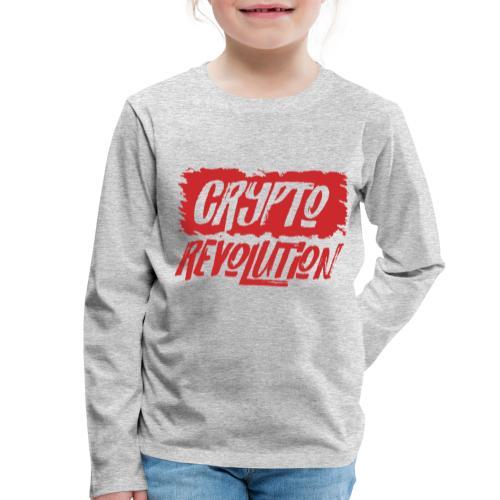 Crypto Revolution - Kids' Premium Longsleeve Shirt