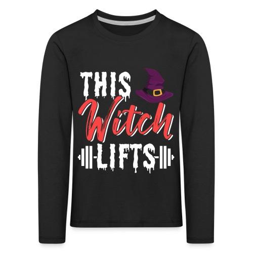This Witch Lifts - Kinder Premium Langarmshirt