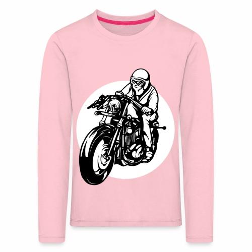 Motorradfahrer - Kids' Premium Longsleeve Shirt