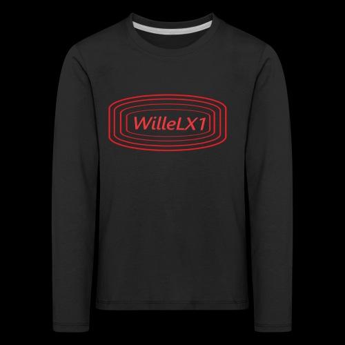 Cirkel LX1 - Långärmad premium-T-shirt barn