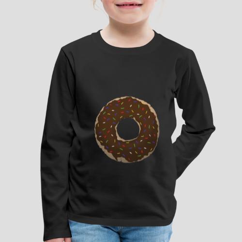 Wähle deinen Donut - Schoko | für Alle - Kinder Premium Langarmshirt