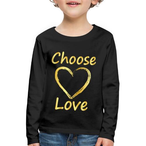 Love - Kids' Premium Longsleeve Shirt