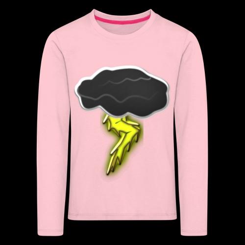 Blitzschlag - Kinder Premium Langarmshirt