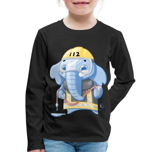 Feuerwehr Elefant - Kinder Premium Langarmshirt