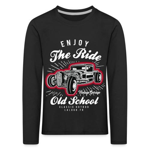 T-shirt Enjoy The Ride Hot Rod - T-shirt manches longues Premium Enfant