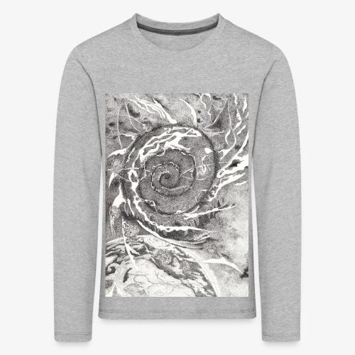 Decipher Entity by Rivinoya - Lasten premium pitkähihainen t-paita