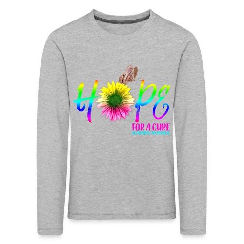 Hope For A Cure Alzheimer Awareness - Kids' Premium Longsleeve Shirt