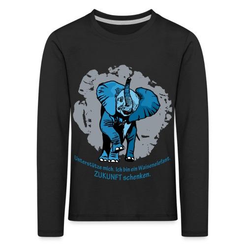 Zukunft schenken - Kinder Premium Langarmshirt
