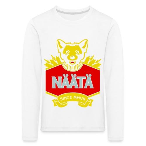 Näätä - Lasten premium pitkähihainen t-paita