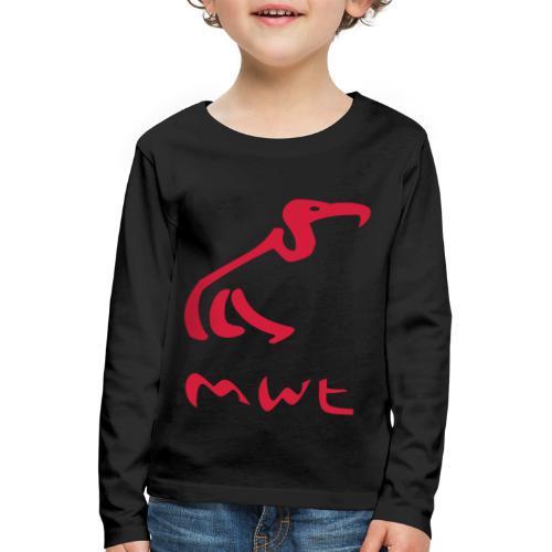 mwt avec nom - Kinder Premium Langarmshirt