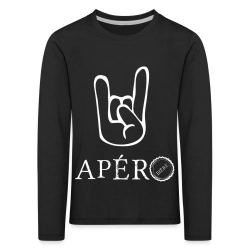 rock and apéro - T-shirt manches longues Premium Enfant