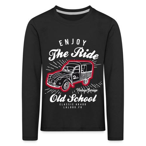 T-shirt Enjoy The Ride 2cv AK400 - T-shirt manches longues Premium Enfant
