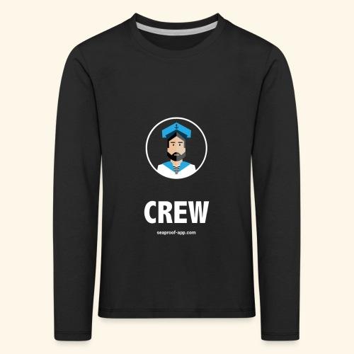 SeaProof Crew - Kinder Premium Langarmshirt