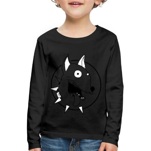 chien fou - T-shirt manches longues Premium Enfant