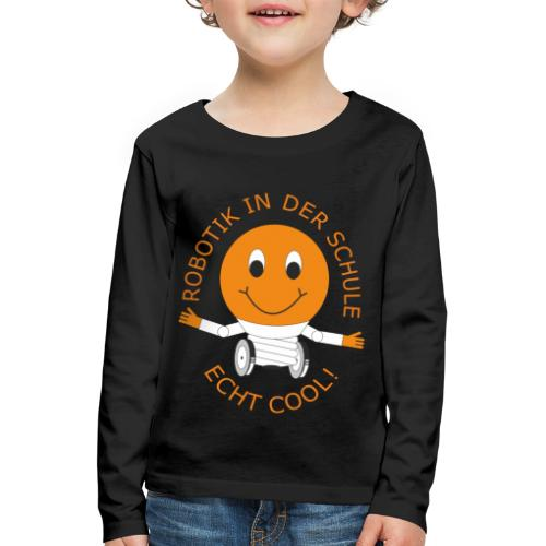 SOMALES- Robotik in der Schule - ECHT COOL - Kinder Premium Langarmshirt