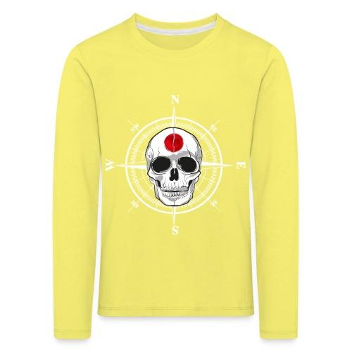 Skull Japanese - Kids' Premium Longsleeve Shirt