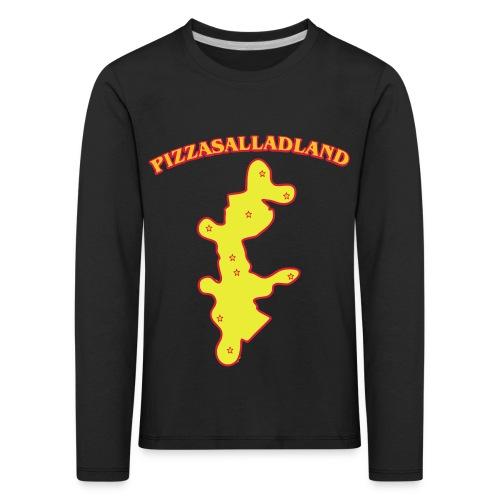 Pizzasalladland - Långärmad premium-T-shirt barn