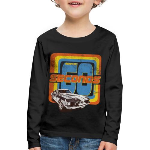 60 Seconds - Kinder Premium Langarmshirt